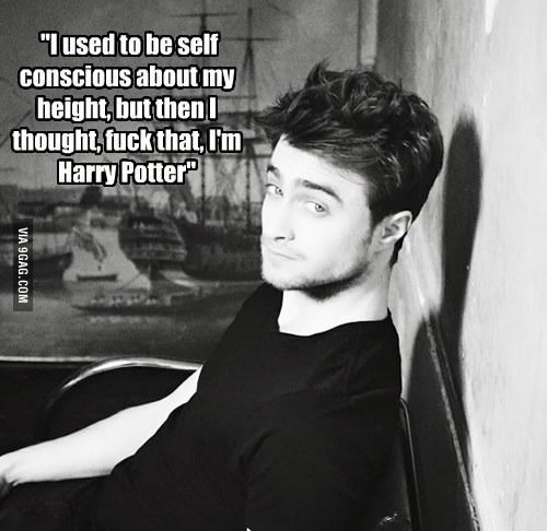 Daniel Radcliffe being awesome | Awesome, Daniel o'connell ...
