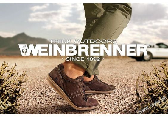 "Weinbrenner brand was created in 1892 by Albert Weinbrenner. Now the largest worldwide retailer ""Bata"" sale Weinbrenner shoes. #batashoes"