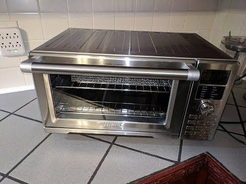 Nuwave Bravo Xl Smart Oven Countertop Convection Toaster Air Fryer Review Youtube Air Fryer Review Nuwave Air