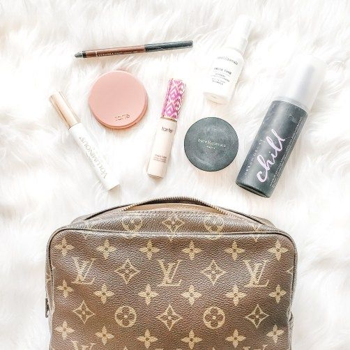 What S In My Makeup Bag Everyday Makeup With Images Whats In