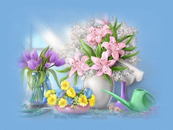penny parker graphics | Crystalex Graphic Designs~Websets~Linkware~Penny Parker~Flower Window