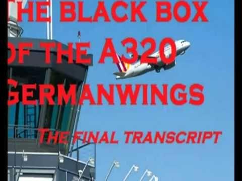 A320 Ce qu'on entend sur la boîte noire (Bande sonore)