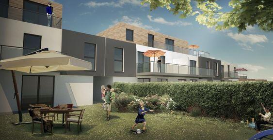 Photo Construction D Un Immeuble De 10 Logements En Habitat Intermediaire A La Musau8 House Styles Mansions House