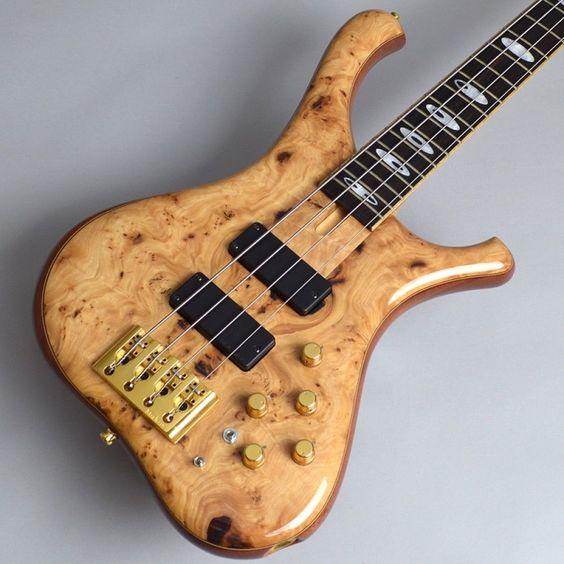 MARLEAUX ConsatSignature 4str Bass Guitar Natural Free shipping EMS #MARLEAUX…