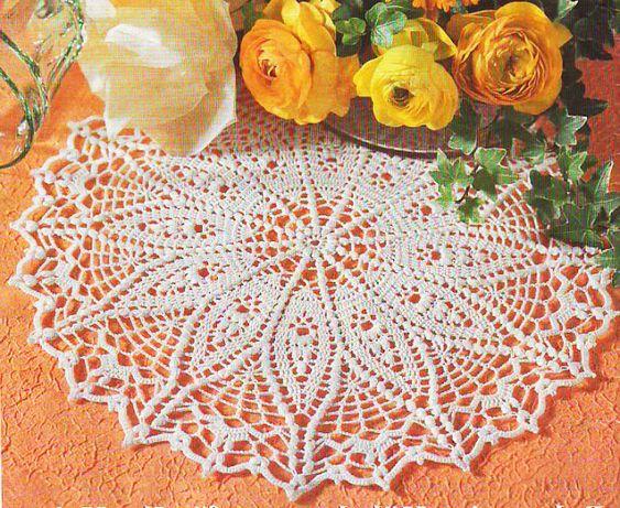 Tecendo Artes em Crochet: Duas Toalhinhas Lindinhas com Gráficos!