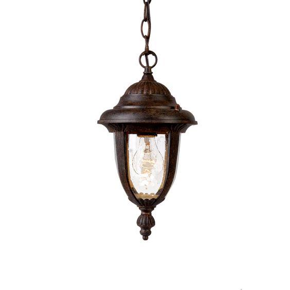 "Acclaim Lighting 3512 Monterey 1 Light 14"" Height Outdoor Pendant"