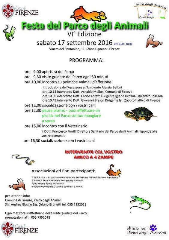Al Parco degli Animali di Firenze torna la Festa a porte aperte…