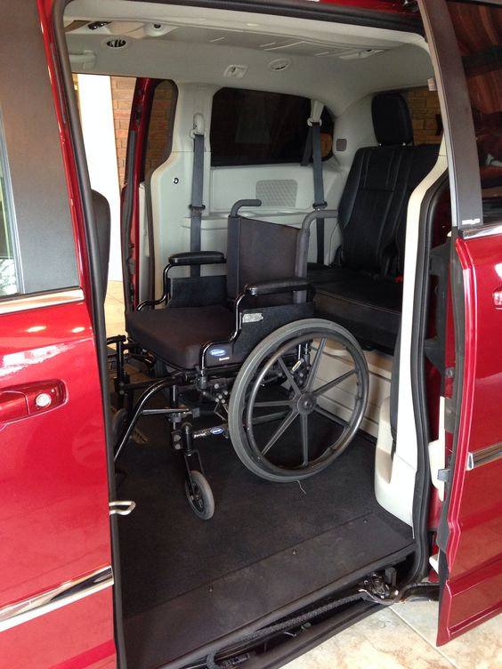 Side entry wheelchair lift.