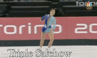 Triple Salchow: A GIF Guide to Figure Skaters' Jumps at the #wintergames