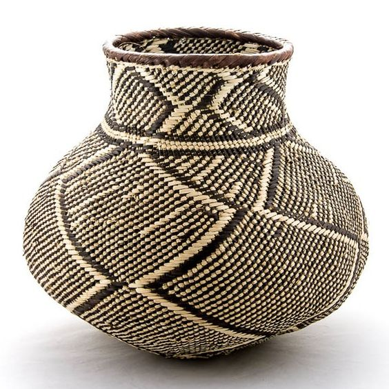 African Baskets: :: Batonga Basket, Design Afrika Www.baobab-interiors.co
