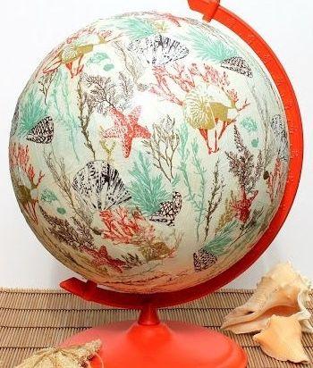 DIY globe!