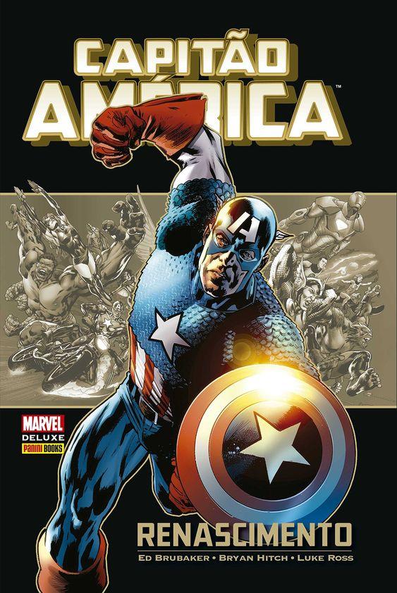 Capitão América - Renascimento - Marvel Deluxe - MonsterBrain