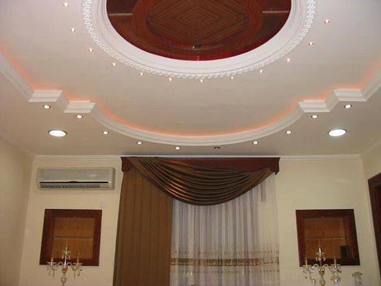 اسقف معلقة جبس حديثة ومودرن بديكورات فخمة ميكساتك Ceiling Lights Decor Home Decor