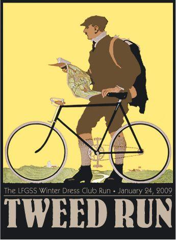 tweed run..