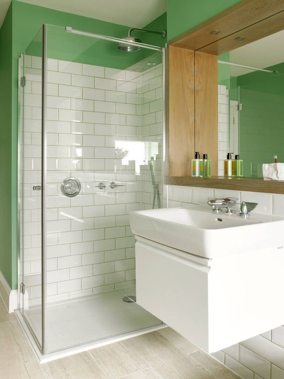 Bagno eclettico di Amory Brown Ltd