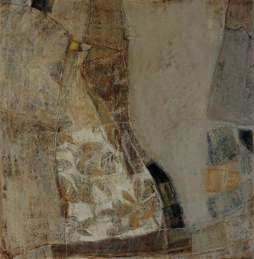 """Catherine Sévérac, """"De l'Autre Côté du Miroir: X"""", huile sur toile"""