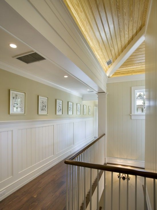 Shiplap Ceiling Hallways And Ceilings On Pinterest
