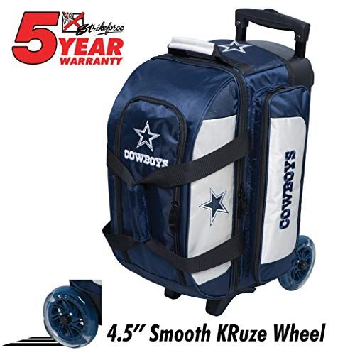 Kr Strikeforce Bowling Bags Dallas Cowboys 2 Ball Roller Bowling Bag Multi Bowling Bags Bowling Nfl Teams Logos