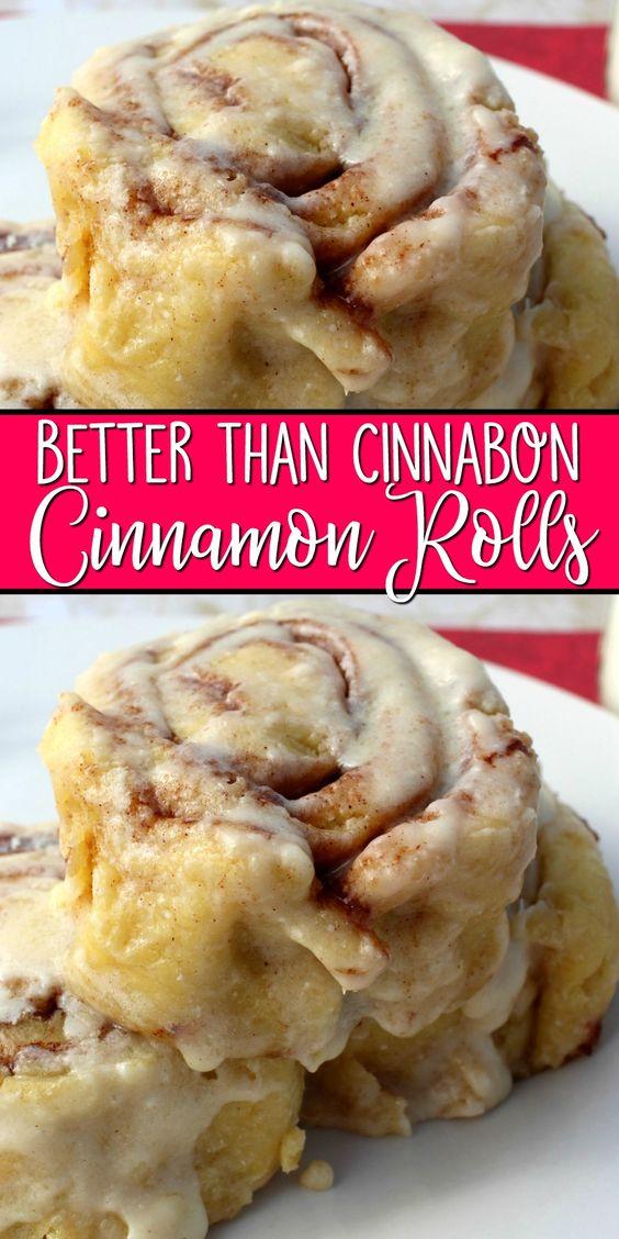 Better Than Cinnabon Cinnamon Rolls