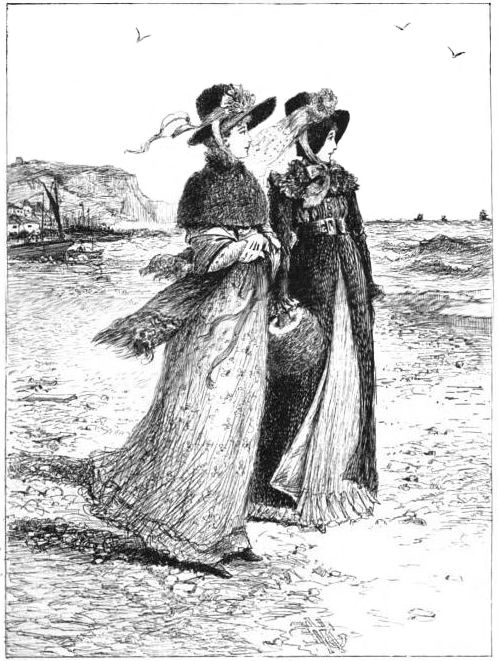 Anne Elliott and Henrietta Musgrove from Jane Austen's Persuasion: