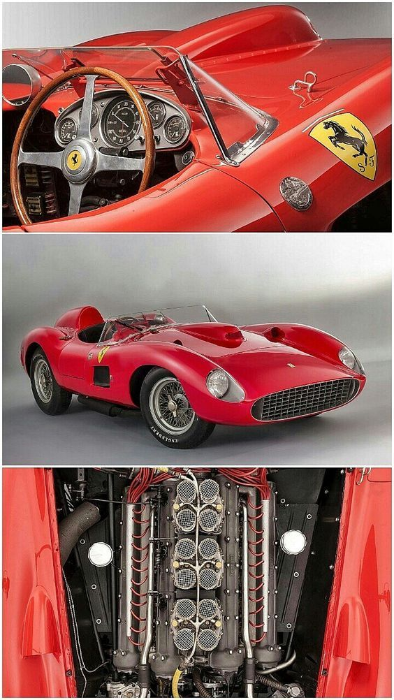 Ferrari 355 S Spider Scaglietti La Ferrari 335 S était Une Voiture De Course Sportive Produite Par Le Fabricant Itali Classic Sports Cars Super Cars Ferrari