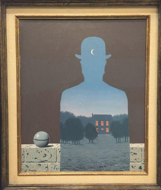 """L'heureux donateur - Exposition """"Magritte, la trahison des images"""" au Centre National d'Art et de Culture Georges Pompidou."""