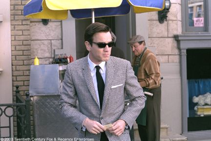 """Ewan McGregor as Catcher Block in the film """"Down With Love."""" Ewan's  1960s look is fab-u-lous. Wish more men dressed like that today..."""