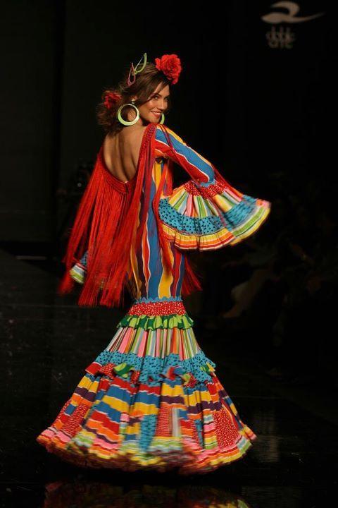 Flamenco Dress by Agatha Ruiz de la Prada.