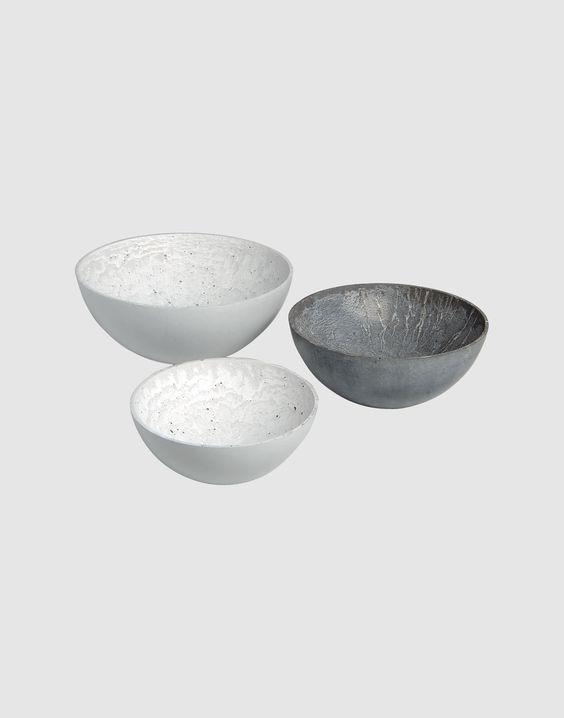 Concrete bowls: Black Chalk, Concrete Bowls, Design General, Beton Concrete, Art Pottery, Ceramic Art