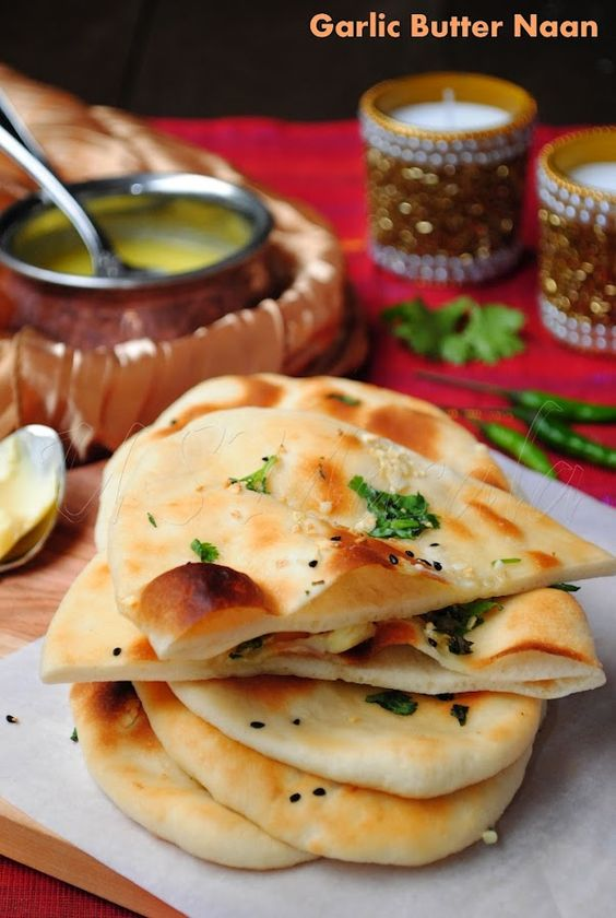 Butter Garlic Naan