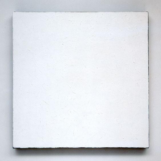 Robert Ryman / series #17 (white), 2003