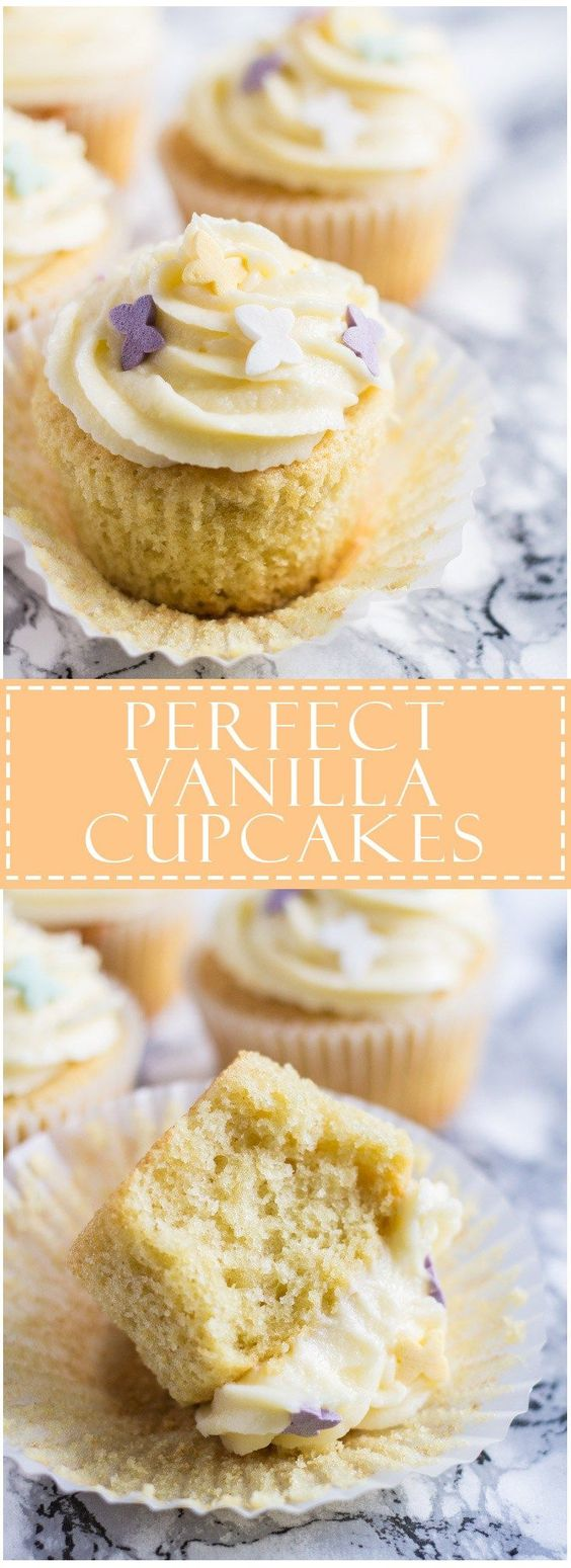 Perfect Vanilla Cupcakes | Marsha's Baking Addiction