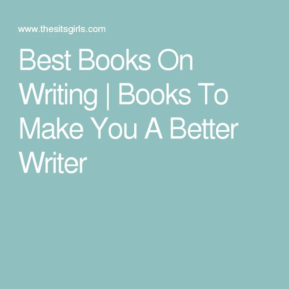Recommended young adults books to make you a better writer?