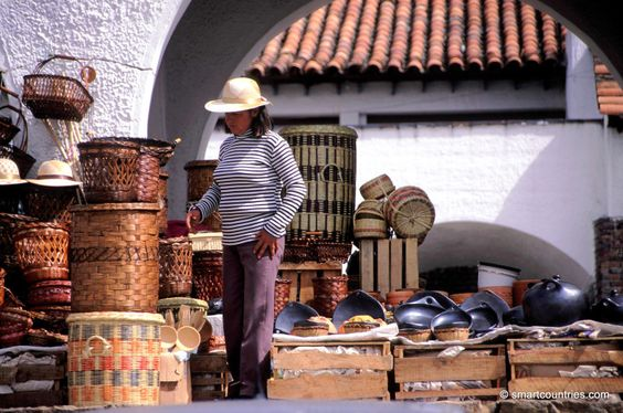 Guatavita Market, Colombia.