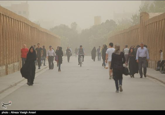 Dust Pollution Reaches Dangerous Levels in Several Iranian Provinces | Respro® Bulletin Board