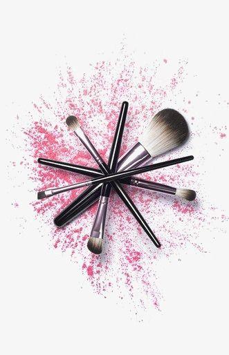 Makeup Brush Effect Cosmetics Photography Makeup Illustration Makeup Drawing