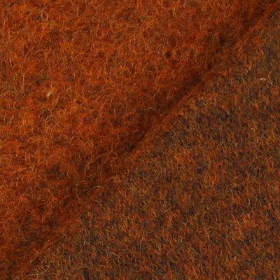 Lã cozida 17 - Lã virgem - Poliéster - terracota