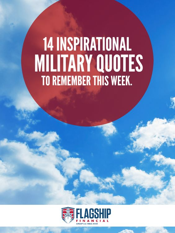 14 inspirational military quotes to remember this week