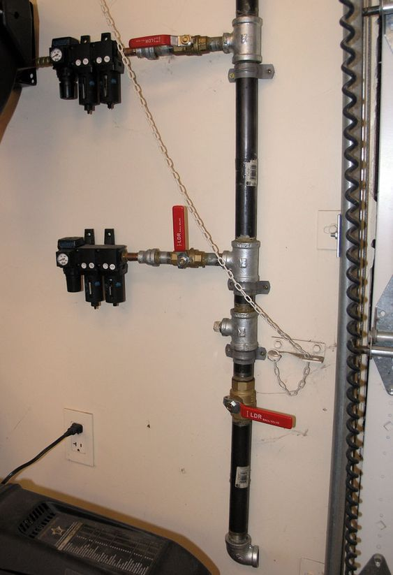 Plumbing A Shop Air System Done This In Copper It Is
