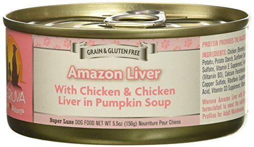 Weruva Amazon Liver Canned Dog Food Case 5 5oz For Sale Food Cases Canned Dog Food Dog Food Recipes