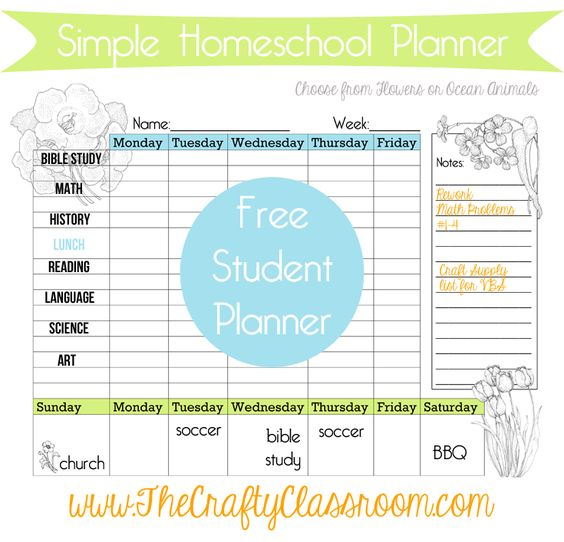 Free printable planner  Daily planner  weekly planner  Monthly