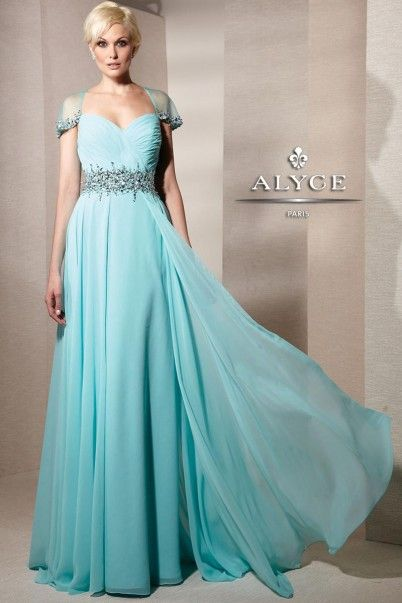 ALYC Paris | Mothers of the Bride Dress Style 29581 - full shot