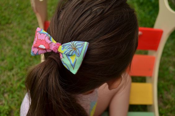 Sew Homegrown: {Create} Fabric Hairbow