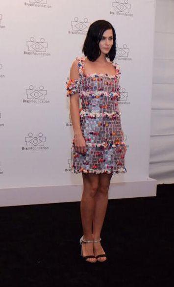 BrazilFoundation: uma volta pelo tapete vermelho do gala em SP - Vogue | Red carpet.  Leigh Lezark de Chanel