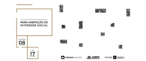 Inscrições para concurso da Codhab-DF para projetos de moradias de interesse social vão até 31 de julho | aU - Arquitetura e Urbanismo