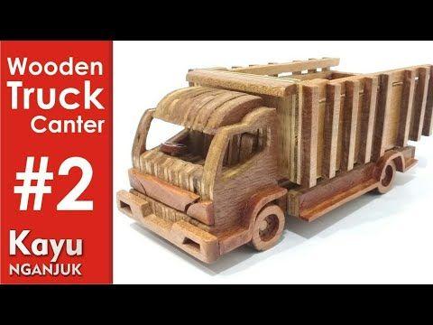 Membuat Miniatur Truk Part2 Youtube Mobil Mainan Mainan Kayu Truk