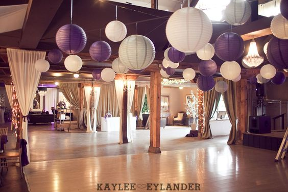 Purple And Grey Wedding Colors | Vintage Fun Modern DIY Wedding Photography Blog
