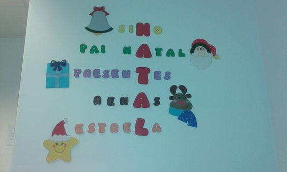 Crucigrama de Natal Jardim-de-Infância 2015/2016