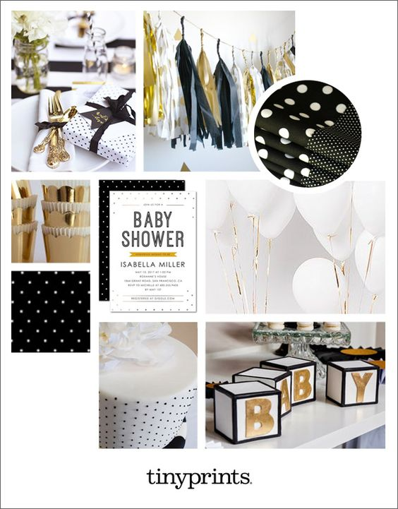 black and gold baby shower gold baby showers feel showered karyme s