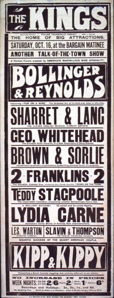 Vaudeville Research Paper